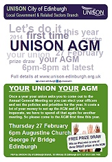 AGM reminder - 27 February. Win an iPad mini